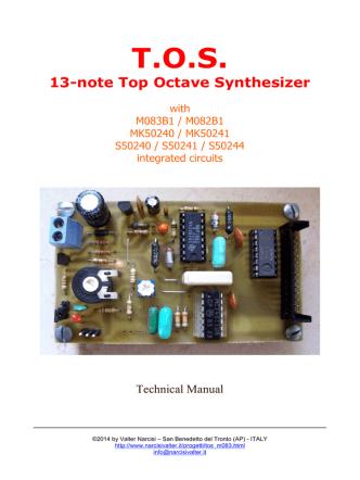 (Service Manual rev. 2) con disegni, schema elettrico