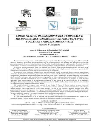 314 Programma vers5 - studium orl franco cocchini