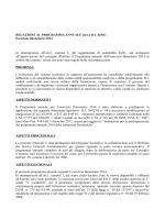 relazione dirigente - Istituto Superiore Statale Cardarelli