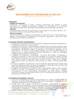 REGOLAMENTO DI CONVENZIONE AL CRAL EAV