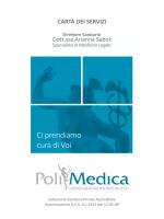 Carta dei servizi PoliMedica
