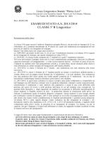 5B ling - Liceo Primo Levi