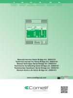 manuale pdf - COMELIT SpA