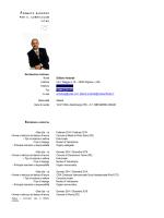 Curriculum vitae del dott. Gilberto Ambotta
