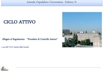 CICLO ATTIVO - Azienda Ospedaliera Universitaria Federico II