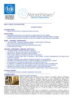 Newletter 11 Dicembre 2014