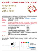 Programma attività 2014-2015