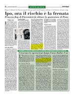 Italia Oggi Sette - Lombardi Molinari Segni Studio legale