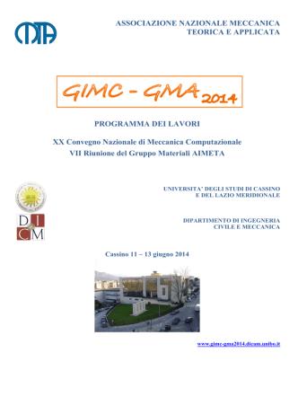 ASSOCIAZIONE NAZIONALE MECCANICA - GIMC