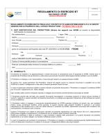 Regolamento esercizio BT fino a 20 KW (autocertificazione)