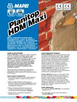 Planitop HDM Maxi Planitop HDM Maxi