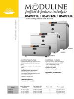 HSW011E • HSW012E • HSW013E