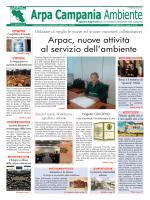Magazine Arpa Campania Ambiente n. 19 del 15 ottobre 2014