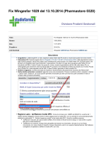 Fix Wingesfar 1029 del 13.10.2014 (Pharmastore 0320)