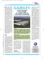 Gazeley Italia, nuovi progetti per immobili efficienti