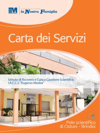 Carta dei Servizi - IRCCS Eugenio Medea