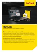 Software NCGuide per la simulazione di CNC FANUC su PC