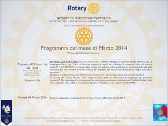 Copia di Keynote marzo 2014 programma.key
