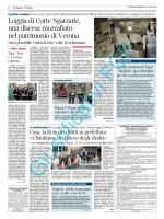 Pubblicazione avviso su quotidiano Corriere di Verona del 09.02.2014
