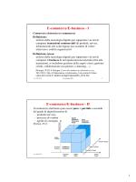 E-commerce/E-business - Dipartimento di Informatica