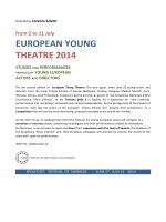 PROGR. EUROPEAN YOUNG THEATRE DEF. 16 MAGGIO INGL