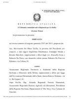 ricorso Associazione Movimento No MUOS Sicilia