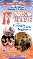 PromoIsola-17.a Rass.Teatrale - Progr.Generale Chignolo Feb-Mar