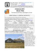 8-Febbraio-2015-Monte Tifata- Scheda