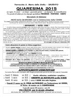 programma - Parrocchia Druento