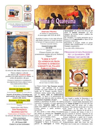 Campana 22 Febbraio 2015 - Parrocchia di Santa Bertilla