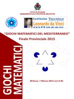 Finale Provinciale 2015