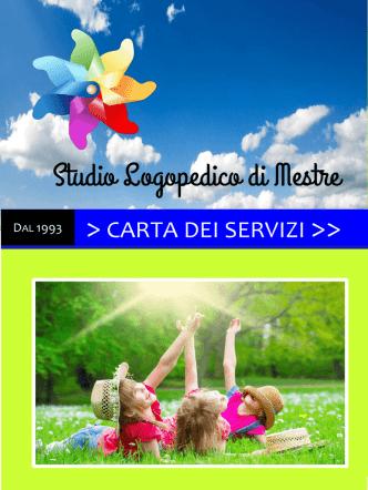 carta dei servizi >> - Studio Logopedico di Mestre Venezia