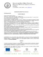 Rif. Metropolis A)23 - Università degli Studi di Napoli Federico II