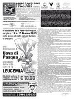 Richiede Lettore PDF - Associazione Siciliana Leucemia