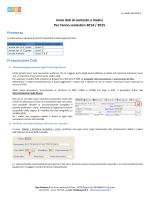 preparazione e invio dati di contesto a Invalsi - 2015