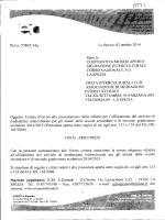 Prot.n. 5580/CI4q La Spezia, 02 ottobre 2014 Spett.ie