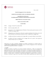 D.R. n. 2210 Facoltà di Ingegneria Civile e Industriale