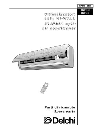 Climatizzatori split HI-WALL HI-WALL split air