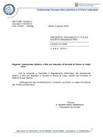 SETTORE TECNICO Circolare n° 100/2014 Prot. n° 5377 – CDS/fg