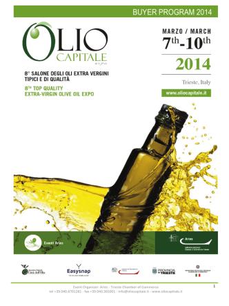 buyer program 2014 - Italian Chamber of Commerce in Canada