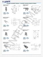 Contatti Lamellati (Faston) | Lamellar Contacts (Quick-fit