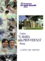 """""""S. MARIA della PROVVIDENZA"""" - Fondazione Don Carlo Gnocchi"""