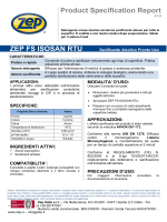 Product Specification Report ZEP FS ISOSAN RTU