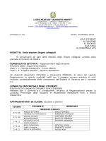 Circ. n. 44 del 30 ottobre 2014 - Esito elezioni Organi collegiali