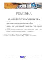 Brochure FINATENA Versione estesa