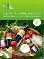 """Catalogo """"Specialità dei parchi svizzeri"""" per ditte"""