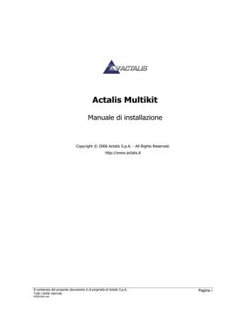 Actalis Multikit