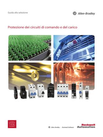 1492-SG122C-IT-P, Protezione dei circuiti di comando e del carico