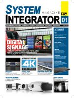 DIGITAL SIGNAGE - System Integrator Magazine