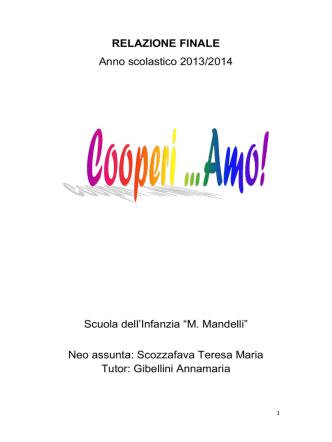 Cooperi … Amo - Direzione Didattica di Vignola